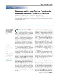 Menopause and Hormone Therapy: From Vascular ... - ResearchGate