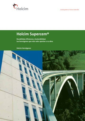Holcim Supercem® - Reformas y Rehabilitaciones