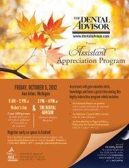 Appreciation Program Assistant - Dental Advisor
