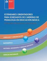 estándares orientadores para egresados de carreras de pedagogía