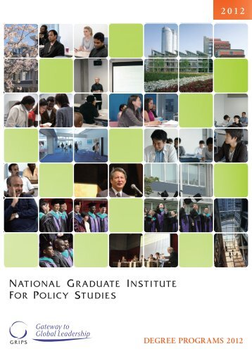 DEGREE PROGRAMS 2012