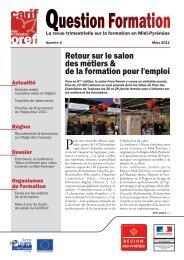 Question Formation n°4 - Carif Oref Midi-Pyrénée