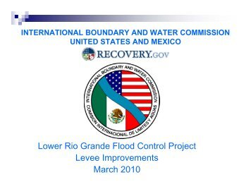 Lower Rio Grande Flood Control Project Levee Improvements ...