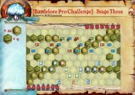 [Battlelore Pro Challenge] - Stage Three