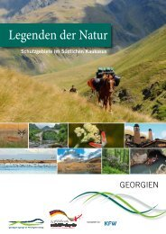 Legenden der Natur - Caucasus Nature Fund