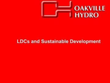 How Ontario LDC's are Promoting Sustainable Development, Alex ...