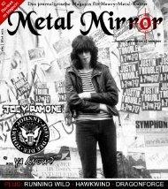 METAL MIRROR #65 - Ramones, Joey Ramone, Ramones-Museum ...