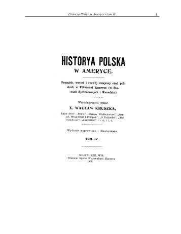 1 Historya Polska w Ameryce - tom IV - Liturgical Center