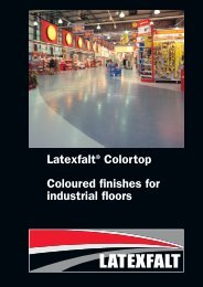 Latexfalt® Colortop Coloured finishes for industrial ... - Lane Roofing