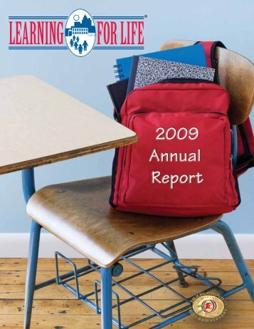 2009 Annual Report - [PDF] - Learning for Life