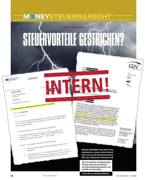 M neySTeuern&rechT - Gowin