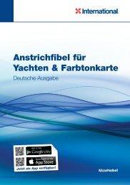 Anstrichfibel für Yachten & Farbtonkarte