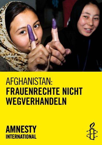 Broschuere_A4_Afghanistan_ES.pdf - Amnesty International