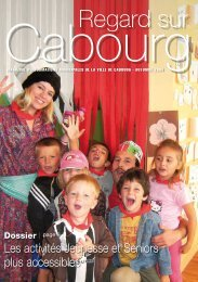 Regard sur Cabourg automne 2009