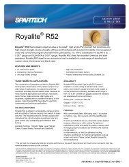 Royalite R52 - Spartech Corporation