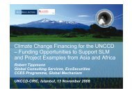 Climate Change Financing for the UNCCD ... - desertifikation.de