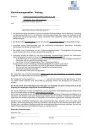 Versicherungsmakler - Vertrag - Pickhardt Versicherungsmakler ...