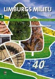 Limburgs Milieu jubileumnummer - Milieufederatie Limburg