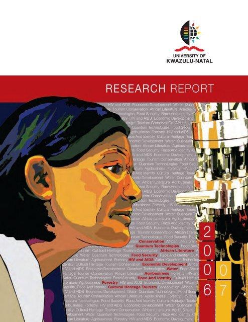 Research Report 2006 2007 University Of Kwazulu Natal