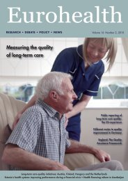Measuring the quality of long-term care - World Health Organization ...
