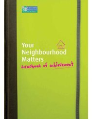 Your Neighbourhood Matters Scrapbook of Achievement - Coventry ...