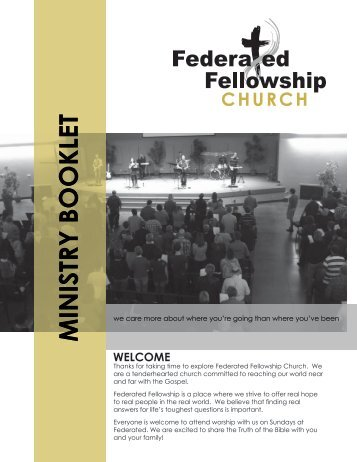 MINISTRY BOOKLET - Federated Fellowship Church