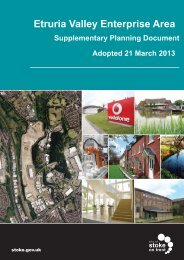 Etruria Valley Enterprise Area - Stoke-on-Trent City Council