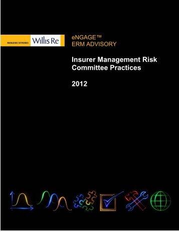 Insurer Management Risk Committee Report - Willis Re