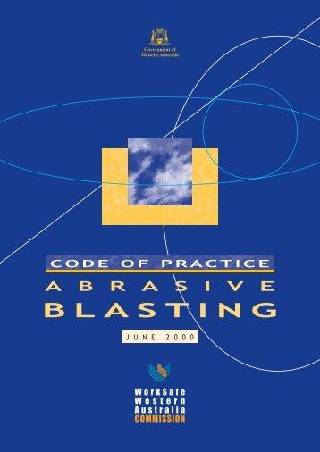 Abrasive blasting - Code - Department of Commerce