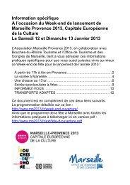 Information spécifique-Handicap - Week-end MP 2013 - Office du ...
