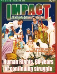 Php 70.00 Vol. 42 No. 12 • DECEMBER 2008 - IMPACT Magazine ...
