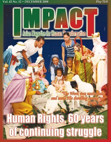 Php 70.00 Vol. 42 No. 12 • DECEMBER 2008 - IMPACT Magazine ...
