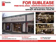 FOR SUBLEASE - DTZ