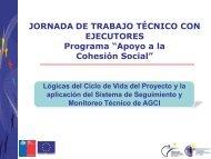 Ciclo de vida del proyecto y aplicación del sistema de seguimiento y ...