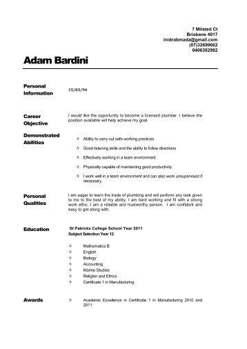 resume preparation kit