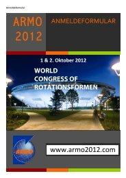 1 & 2. Oktober 2012 - ARMO 2012