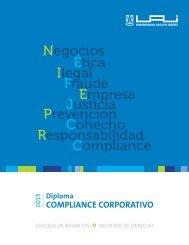 COMPLIANCE CORPORATIVO Diploma - Universidad Adolfo Ibañez