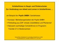 Pupils GMBH - Kompetenzen fördern