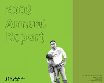 2008 Annual Report - Electronic.indd - Big Brothers Big Sisters of ...