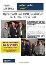 news juli 2012 - Pernitz