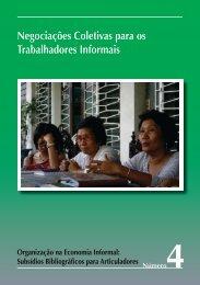Negociações Coletivas para os Trabalhadores ... - Inclusive Cities