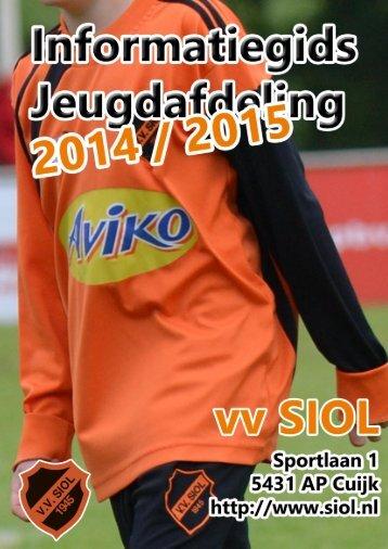 Informatiegids Jeugdafdeling vv SIOL 2014-2015 (20140714)