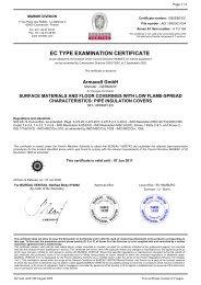 EC TYPE EXAMINATION CERTIFICATE - Glava
