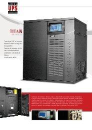 files/UPS TITAN 40-60KVA _1_.pdf - La Casa de la UPS