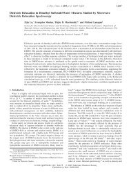 Dielectric Relaxation in Dimethyl Sulfoxide/Water Mixtures Studied ...
