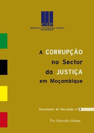 A corrupção no sector da justiça.pdf - CIP