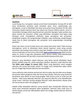 JURNAL AIDS INDONESIA - Komunitas AIDS Indonesia