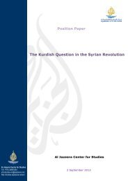 The Kurdish Question in the Syrian Revolution