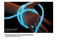 Energivisualisation, Energimedvetenhet - green