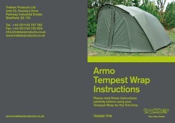 Armo Tempest Wrap Instructions - Trakker Products